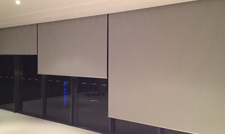 Linked fabric Roller Blinds