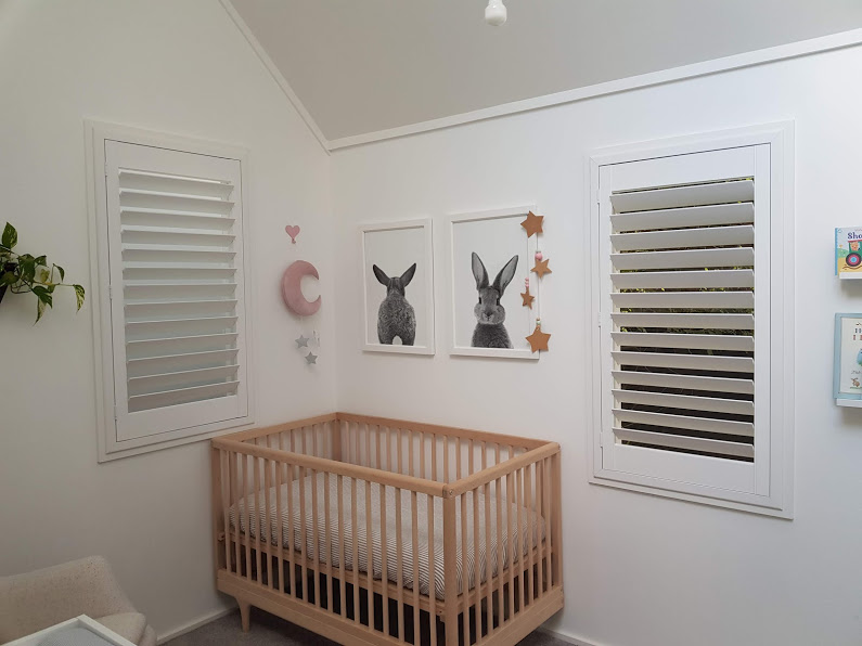 Internal Shutters for Nursery