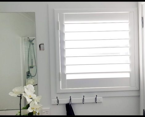 PVC Shutters for ares with moisture